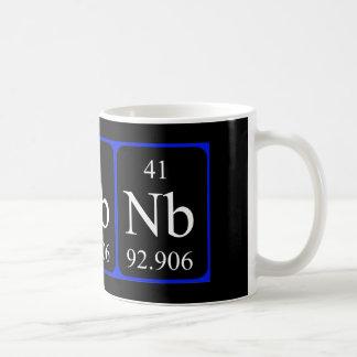 Element 41 mug - Niobium