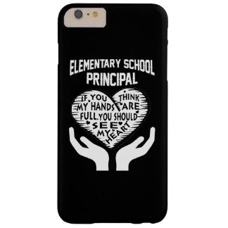 Elementary Principal Barely There iPhone 6 Plus Case