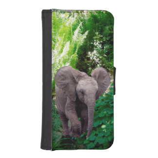 Elephant and Jungle iPhone SE/5/5s Wallet Case