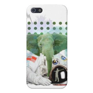Elephant Astronaut iPhone 5/5S Cases