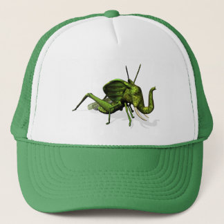 Elephant Grasshopper Crossbreed Trucker Hat