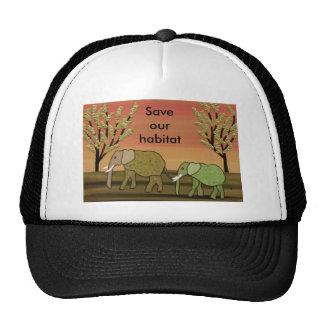 Elephant Habitat Trucker Hat