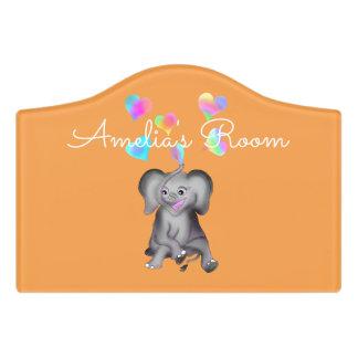 Elephant Hearts by The Happy Juul Company Door Sign