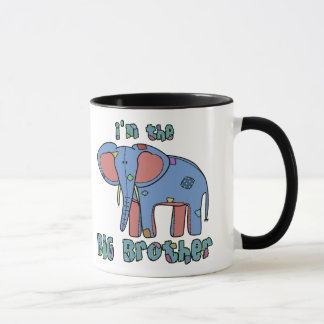 Elephant I'm the Big Brother Mug