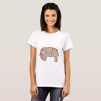 elephant in leopard print T-Shirt