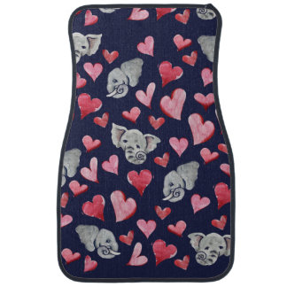 Elephant lover car mat