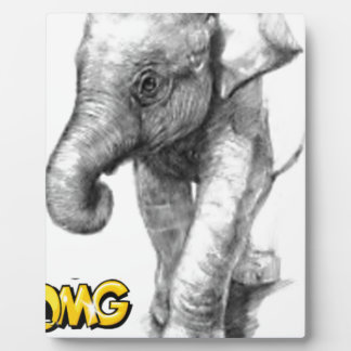 elephant pose plaque