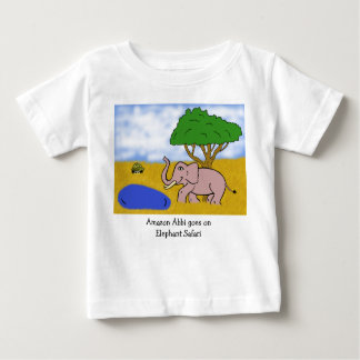 Elephant Safari Baby T-Shirt