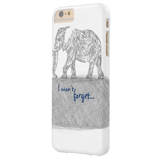 Elephant Sketch iPhone Case