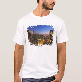 Elevated view, Chicago River T-Shirt