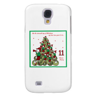 Eleventh Day of Christmas Galaxy S4 Case