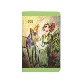 elf and unicorn art one journals