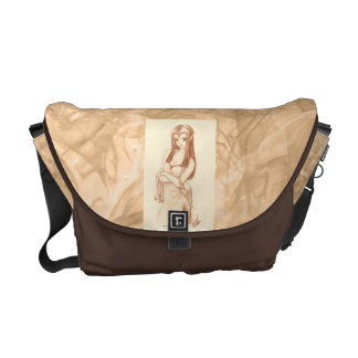 Elf (anime style) courier bag