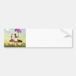 Elf Fairy Bumper Sticker