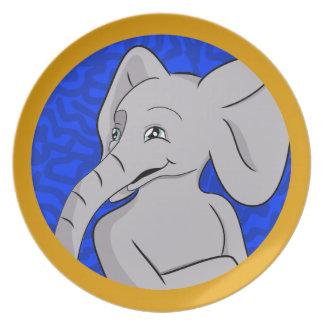 Elias Elephant Plate