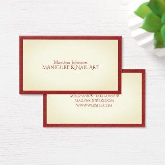 Elite classy frame stylish look business card