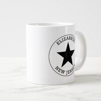 Elizabeth New Jersey Large Coffee Mug