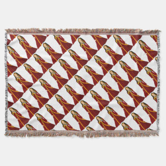 Elizabeth of York Throw Blanket