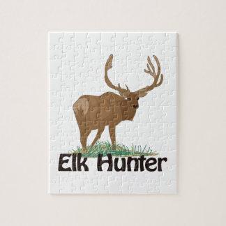 Elk Hunter Jigsaw Puzzle