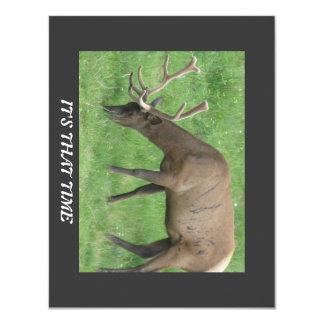 Elk Hunting Party Invitation
