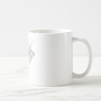 Elk (Wapiti) Meadow Habitat Classic White Coffee Mug