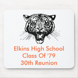 Elkins High School Class Of '79 30th Reunion Mouse Mouse Pad