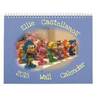 Ellie Castellanos' 2018 Wall Calendar