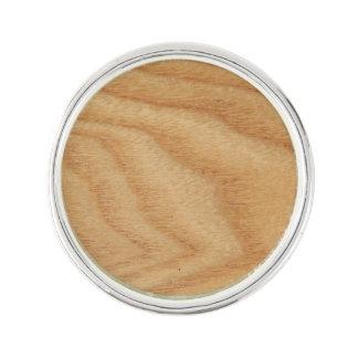 Elm Woodgrain Lapel Pin