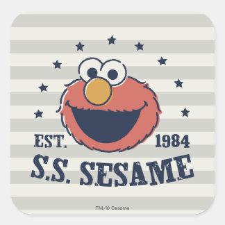 Elmo 1984 square sticker