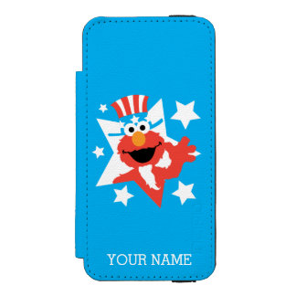 Elmo as Uncle Sam | Add Your Name Incipio Watson™ iPhone 5 Wallet Case