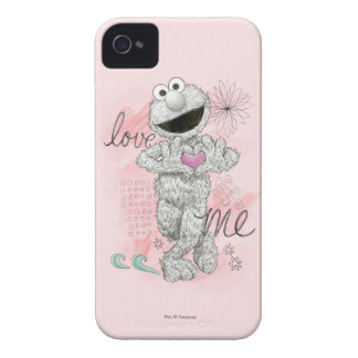 Elmo B&W Sketch Drawing iPhone 4 Case-Mate Cases