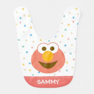 Elmo Baby Big Face | Add Your Name Bib