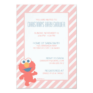 Elmo Baby Shower Invite