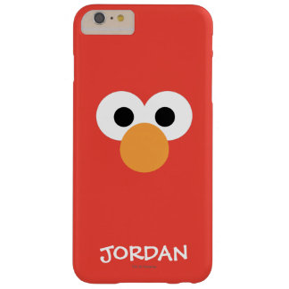 Elmo Big Face | Add Your Name Barely There iPhone 6 Plus Case