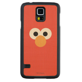 Elmo Big Face Carved Maple Galaxy S5 Case