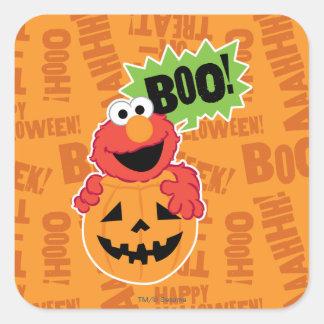 Elmo - Boo Square Sticker