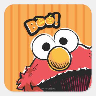 Elmo - Boo! Square Sticker