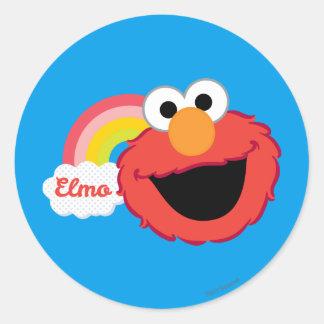 Elmo Girl Classic Round Sticker