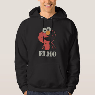 Elmo Half Hoodie