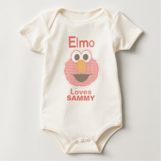 Elmo Loves You | Add Your Name Baby Bodysuit
