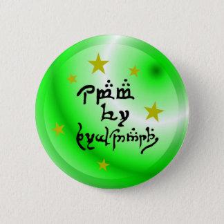 Elvish Language Obama for President 6 Cm Round Badge