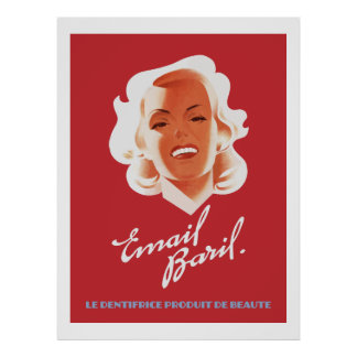 Email Baril 1946 (Vintage French Ads) Poster