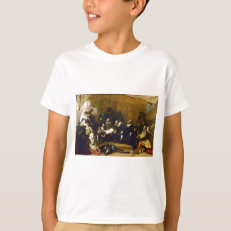 Embarkation of the Pilgrims by Robert W. Weir T-Shirt