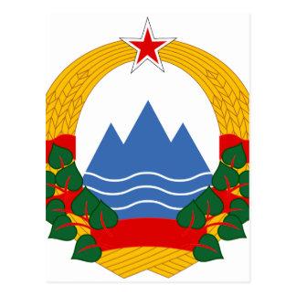 Emblem of the Socialist Republic of Slovenia Postcard