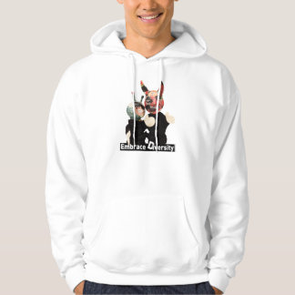 Embrace Diversity Alien and Devil Hoodie