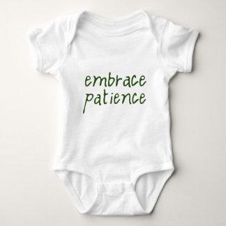 Embrace Patience Baby Bodysuit