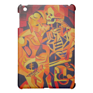 Embracing Death at Halloween iPad Mini Cover