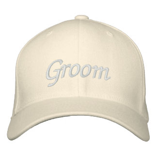 Embroider Gifts Groom Hat | Cap Embroidered Cap