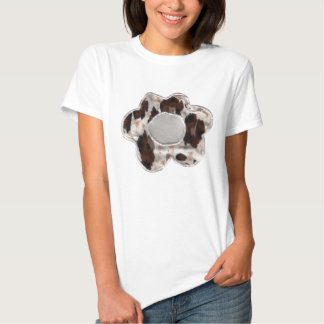 Embroidered flower designs t-shirts