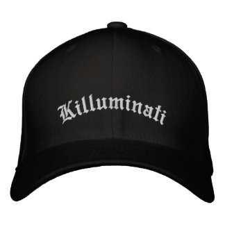 Embroidered Killuminati cap Embroidered Baseball Cap